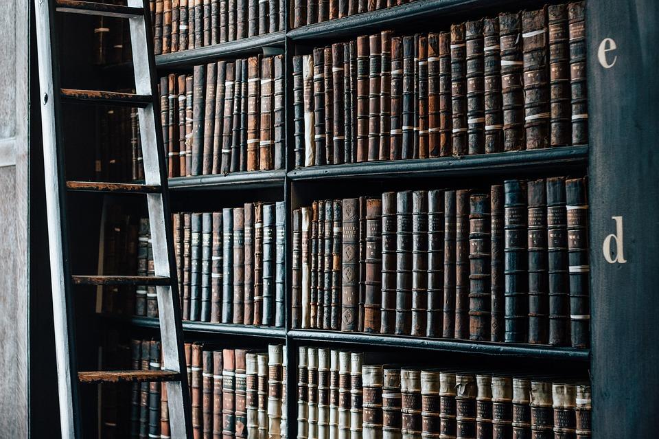 La lecture plus modernisée dans la bibliothèque